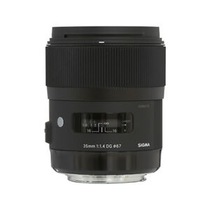 Sigma 35mm f/1.4 DG HSM Art Lens for Canon DSLR Cameras