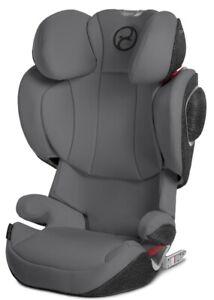 Cybex Solution Z-Fix Child Safety Booster Car Seat Manhattan Grey NEW