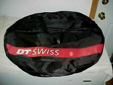 """NEW DT SWISS Cycling, Single Bicycle Wheel Bag, Black, Holds 1 Wheel, 28"""" x 28"""""""