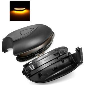 L+R For VW Golf MK6 GTI 6 MKVI R20 Touran Dynamic Side Mirror LED Signal Light