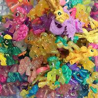 Random 10pcs My Little Pony Blind Bag Glitter LOOSE Ponies Mini Figure Kid Toys