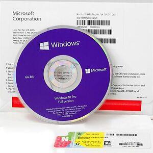 Windows 10 Pro DVD Sealed