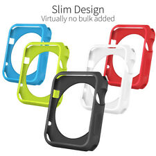 Orzly 5 in 1 Face Plate pack for the Apple Watch SERIES 1 38mm Protective Case