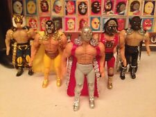 Lucha Libre Movies, wrestling action figures Custom, lot Of 5, 4 Inches