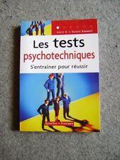 Livre Les tests psychotechniques s'entraîner pour réussir /R29