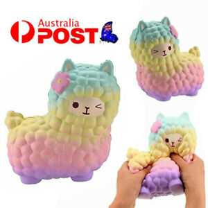 Jumbo 12cm S quishy Alpaca Galaxy Slow Rising Cream Scented Fun Animal Toys Gift