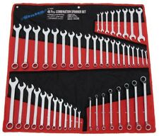 48pc combinazione Offset Open End Spanner Wrench Set-Imperiale & Metriche CT0876