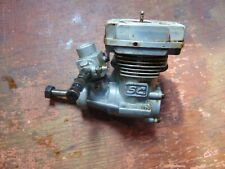 SC 32H HELI ENGINE & MUFFLER (OS CLONE) VERY LIGHTLY OIL STAINED RUNS WELL