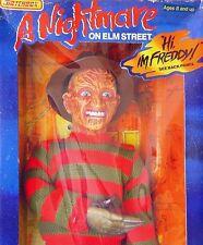 "Matchbox 18"" A NIGHTMARE ON ELM STREET FREDDY KRUEGER Talking Figure MIB`89 RARE"