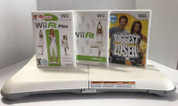 Nintendo Wii Fit Balance Board Bundle With Wii Fit Game Tested & Working