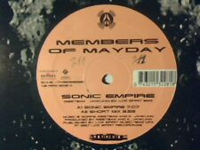 "MEMBERS OF MAYDAY Sonic empire 12"" ITALY RARISSIMO VERY RARE!!!"