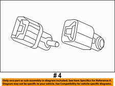Jeep CHRYSLER OEM 11-18 Grand Cherokee Rear Seat Belts-Buckle End 1MC71DX9AC