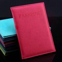 Passport Cover Holder Wallet Case Organizer Protector Travel Accessories Sleeve