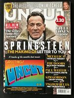 UNCUT MAGAZINE 283 DEC 2020 Bruce Springsteen, Joni Mitchell, Paul Weller & CD