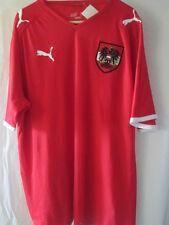 Austria 2008-2010 Roman Kienast Signed Home Football Shirt Size Large /8442