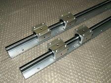 25mm Linear Slide Guida Albero sbr25-1500mm 2 FERROVIA +4 sbr25uu blocco del cuscinetto Set CNC