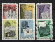 Austria 1965 SG#1447-52 Wipa Stamp Exhibition MNH Set