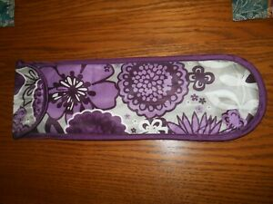 Nice Floral Purple Thirty One Insulated Wine Carry Bag