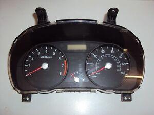 2007 Kia Rio, 1.4L Petrol, Speedo Clock Set / Instrument Cluster Low Miles  SF