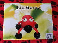 Massagekäfer 12x10cm , Big Game Massagegerät mit 4 Massagekugeln , Vibrator