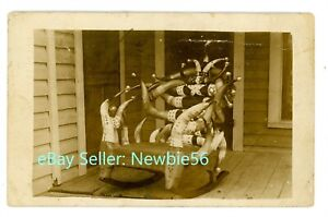 Fort Worth TX-HORN ROCKING CHAIR-SHOWN PAN-PACIFIC EXPOSITION-RPPC Postcard