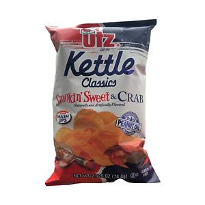 UTZ - Kettle Classics - Smokin Sweet & Crab - 2.625oz (Choose 2 or 3 Bags)