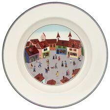 Villeroy & et boch design naif village nouveau Nwl 21cm cerclées soupe/dessert bowl