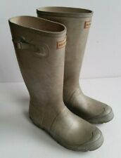 Hunter Matte Silver Wellington Boots UK 4, EU 37