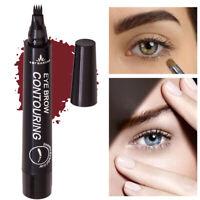 By nanda Liquid Eyebrow Pencil Makeup Fine Brown Sketch Waterproof Cool Tattoo N