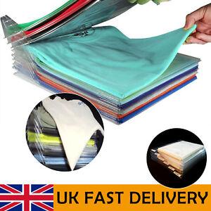 10 Pack T-Shirt Clothes Folder Large Magic Fast Laundry Organizer Folding Board