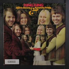 ABBA (BJORN BENNY & AGNETHA FRIDA): Ring Ring LP (Sweden, toc, seam wear, ligh