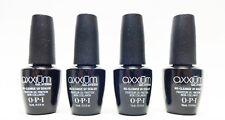 OPI Nail Axxium Gel UV NO CLEANSE TOP COAT Sealer .5oz/15mL ~4 Bottles~
