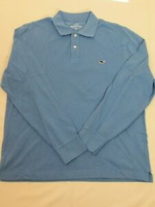 NEW MEN'S VINEYARD VINES L/S CLASSIC PIQUE SOLID POLO SHIRT, PICK SIZE AND COLOR