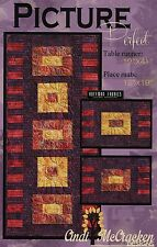 PICTURE PERFECT TABLE RUNNER QUILTING PATTERN, From Cindi McCracken Designs