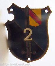 Insigne Miniature boutonnière GENDARMERIE 2° LGO ALLEMAGNE 1945 ORIGINAL 20 mm