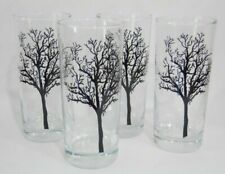 "4 NEW Corelle TIMBER SHADOWS 16-oz GLASSES 6"" Iced Tea Cooler Drink Tumblers"