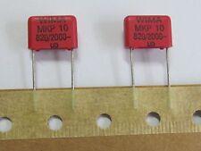 10 Stück - MKP10 820pF 2000V WIMA -  RM10 Polypropylen PP RoHS 0,82nF - 10 pcs
