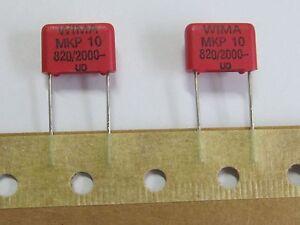 1uf 10/% mks-4 nuevo 63 V 10 x diapositivas condensador