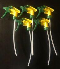5 PCS Heavy Duty Chemical Resistant Trigger Sprayer Spray Bottle Nozzle 28/400