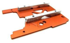 Savage X 4.6 ENGINE MOUNT PLATE and braces (Orange 105896) HPI 109083