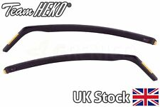 Ford Fiesta mk7 5doors hatchback 2008-2017 front wind deflectors 2pc HEKO TINTED