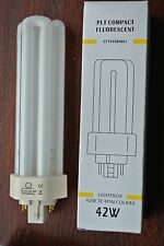 Starlight 42w PLT GX24Q4 4 pin triple tube cool white 840 4000k CFL bulb 3200l