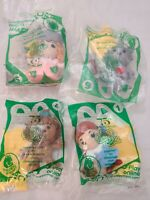 4 WIZARD OF OZ 75th ANNIVERSARY MCDONALDS HAPPY Meal Toys 3 Sealed 1 Unsealded