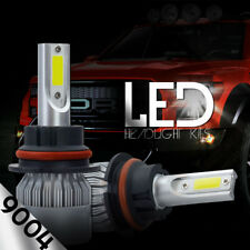 XENTEC LED HID Headlight kit 9004 HB1 White for 1988-1988 Mitsubishi Cordia