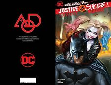 JUSTICE LEAGUE VS SUICIDE SQUAD #1 SET OF 3 AOD COLLECTABLES LIMITED COVERS DC