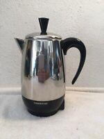 Farberware Electric Coffee Percolator  Complete / 8 cup