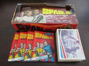 1976 Donruss Space 1999 Complete Set (1-66) Wax Box & 4 Unopened Wax Packs !!!!!