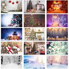 Christmas Tree Background Cloth Studio Photography Backdrop Print Decor