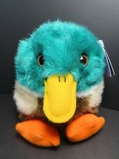 "Swibco Puffkins Collection ""DILLARD"" the Mallard Duck, Excellent Condition! MWMT"