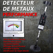 DETECTEUR DE METAUX PRO HAUTE SENSIBILITE NEUF GARANTI